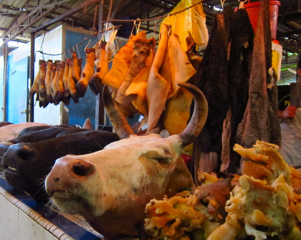 Image result for pasar chow kit kuala lumpur cow head