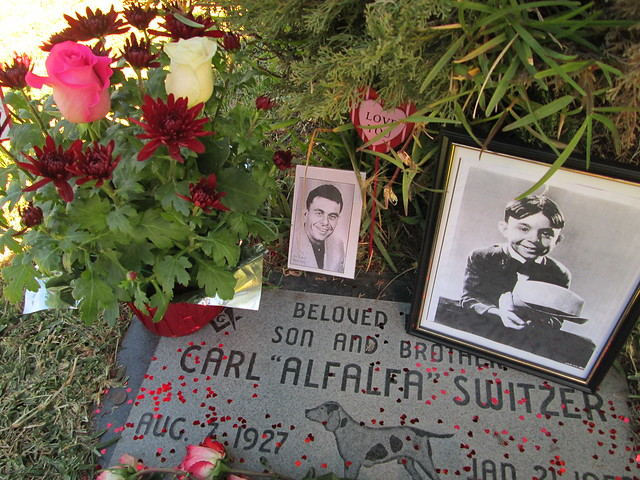 carl switzers resting place at hollywood forever january