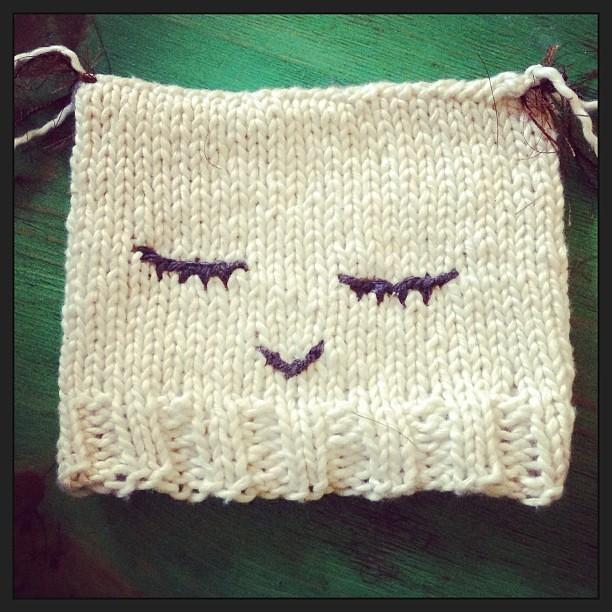 Sleepy Owl Hat Knitting Handmade Owl Owlhat Baby Flickr