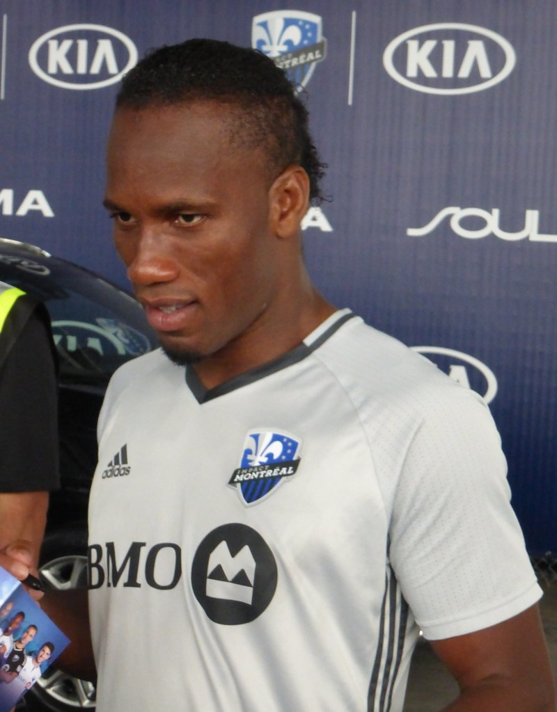 premium selection 9dbe4 3b3d7 Didier Drogba, Stade Saputo, Uniprix Private Training Sess ...