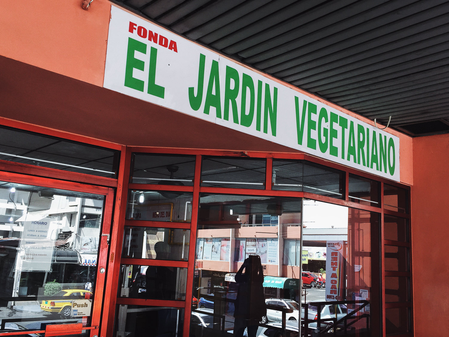 El Jardín Vegetariano in Panama City, Panama