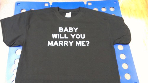 MARRY ME T-SHIRT | by Express Service Signs & T-shirts
