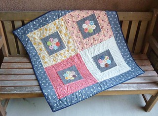 Market Lap Quilt | by fabricmutt