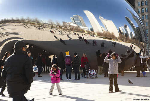 the bean - chicago 5 | by Eva Blue