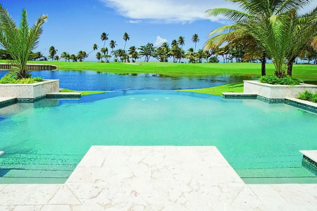 The St Regis Bahia Beach Resort Puerto Rico Infinity Pool View At