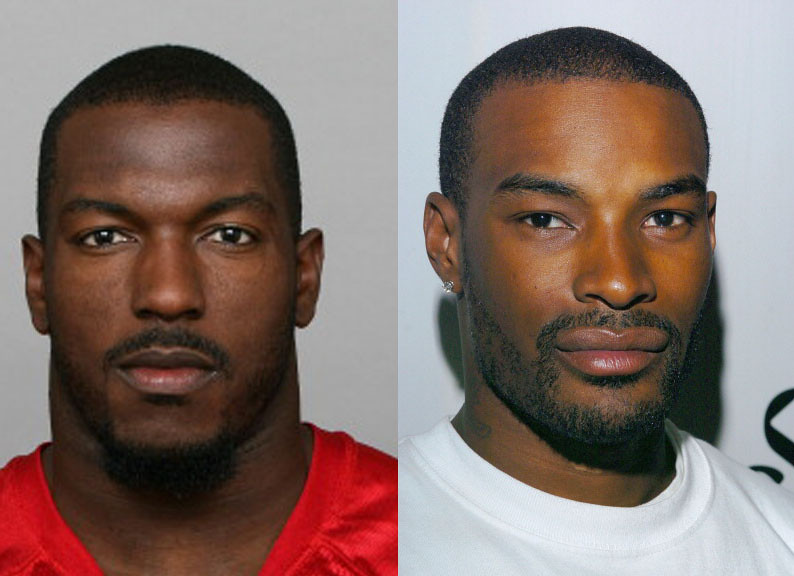 Patrick Willis (49ers), played by Tyson Beckford | Getty ...