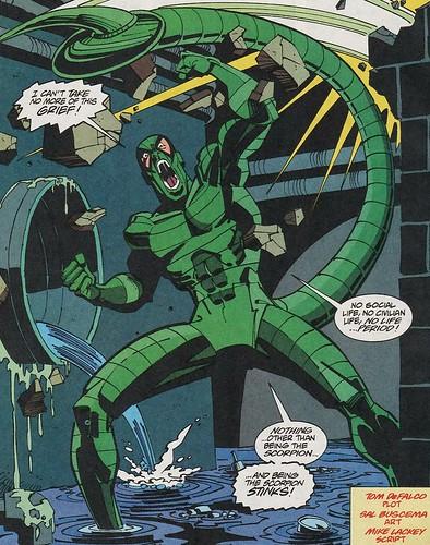 comics Scorpion