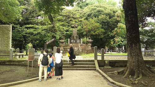 上野戦争遺跡 彰義隊の墓 DSC_0521
