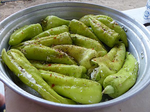 piments farcis