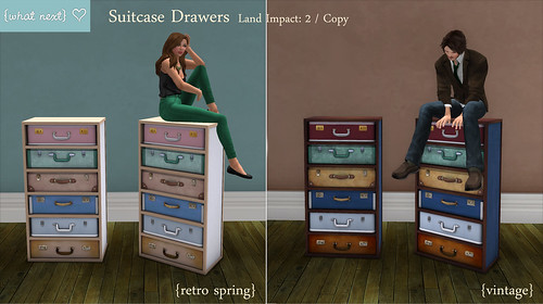 {what next} Suitcase Drawers - For Fifty Linden Friday | by WinterThorn