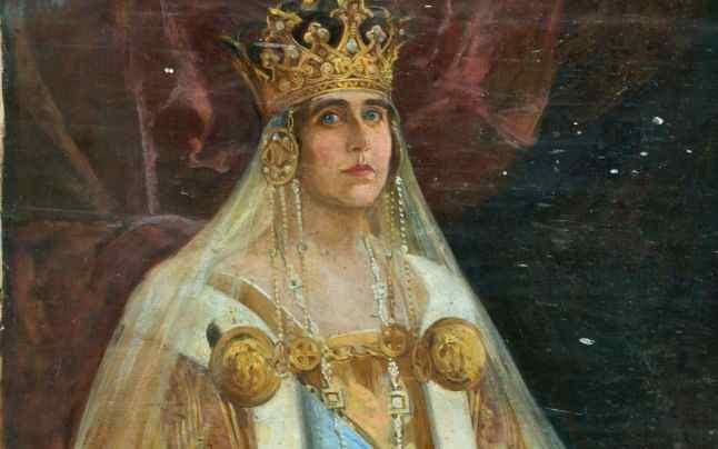 hm queen marie of romania ca 192027 romanian royal