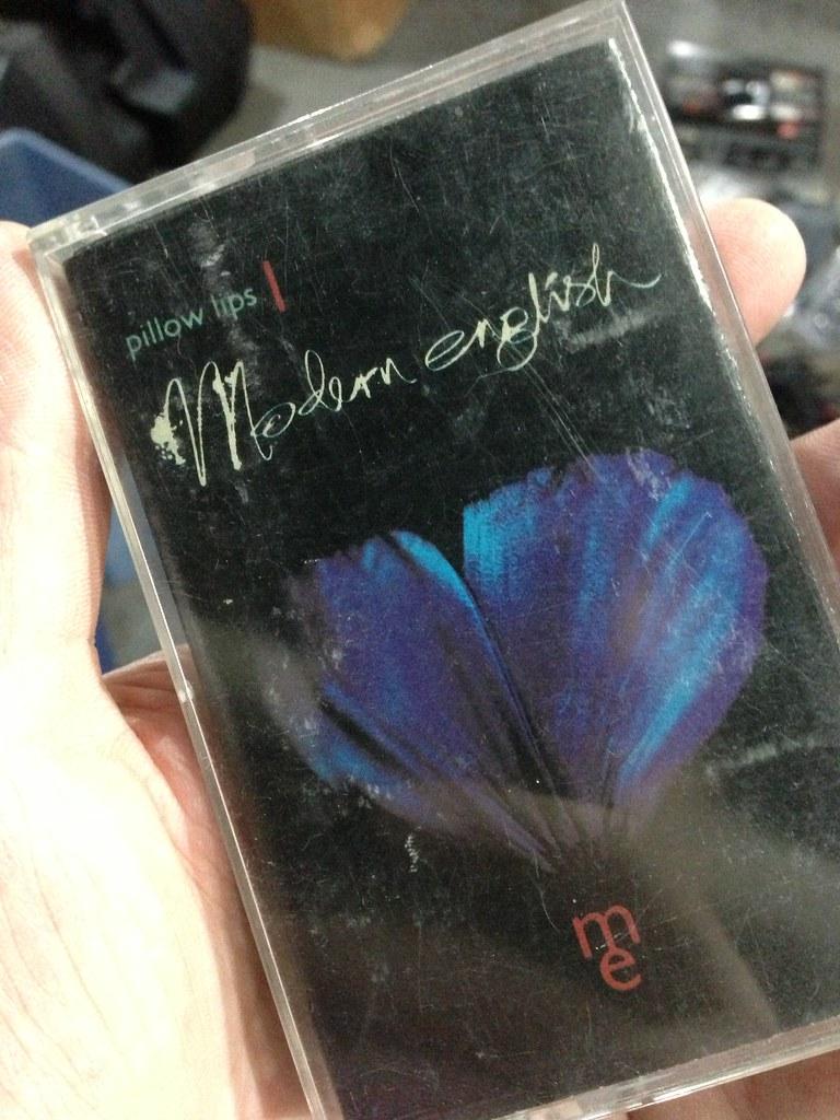 Modern English - Pillow Lips on cassette! Good memories. Jonathan Smith Flickr