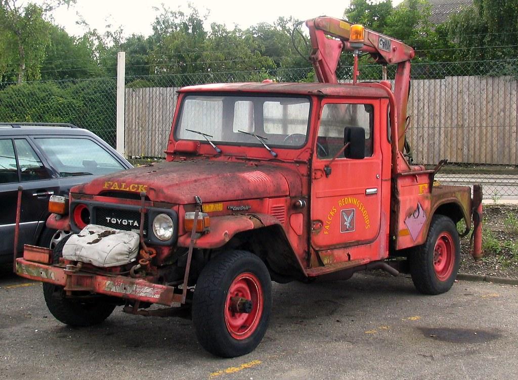 Toyota Landcruiser Wrecker From Falck Aarhus Mon Ikke