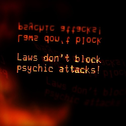 Laws don't block psychic attacks! | by ▓▒░ TORLEY ░▒▓