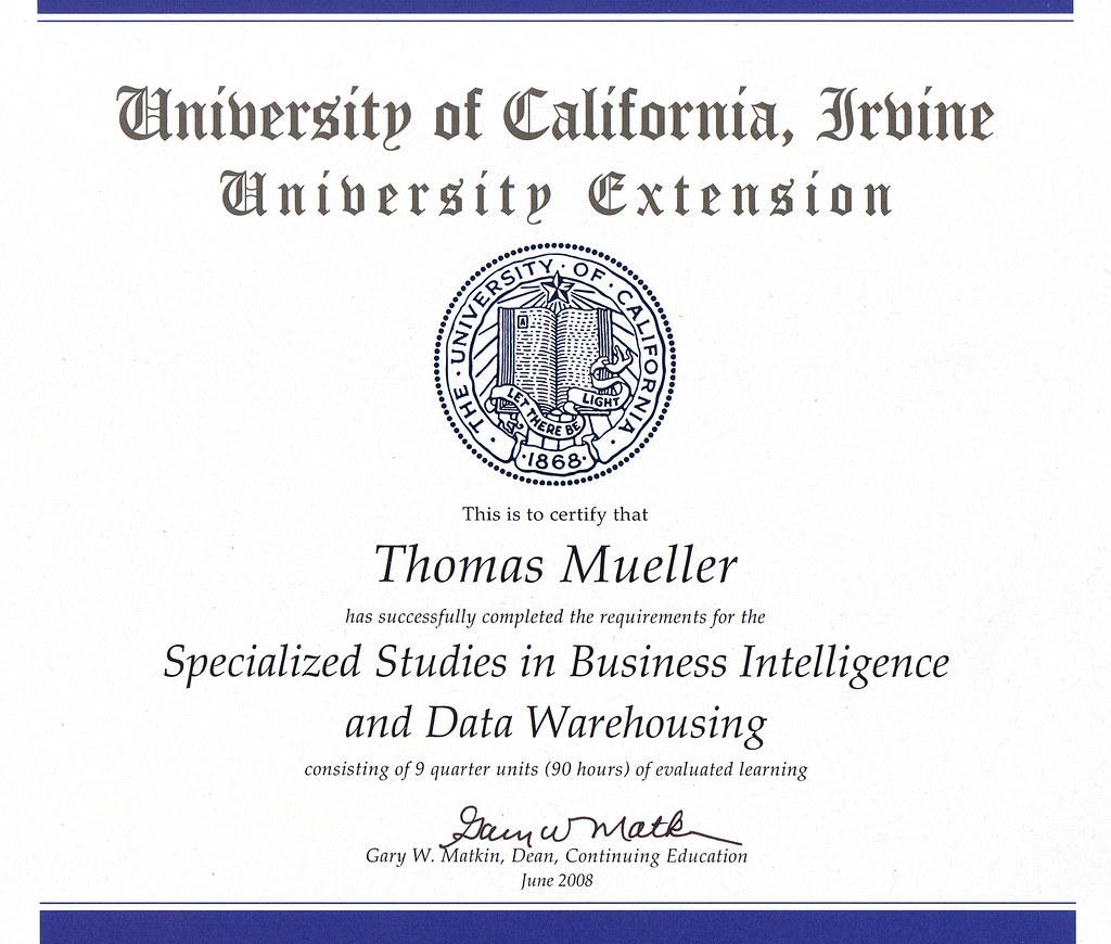 Thomas Mueller Uci Bidw Certificate Some Of My Certificat Flickr