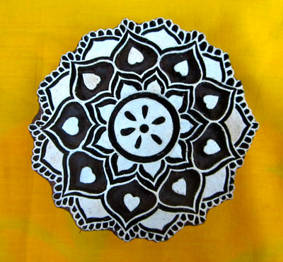 Indian pattern flower - photo#25