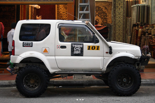 Off Road Jimny Pretty Serious Looking Jimny In Singapore