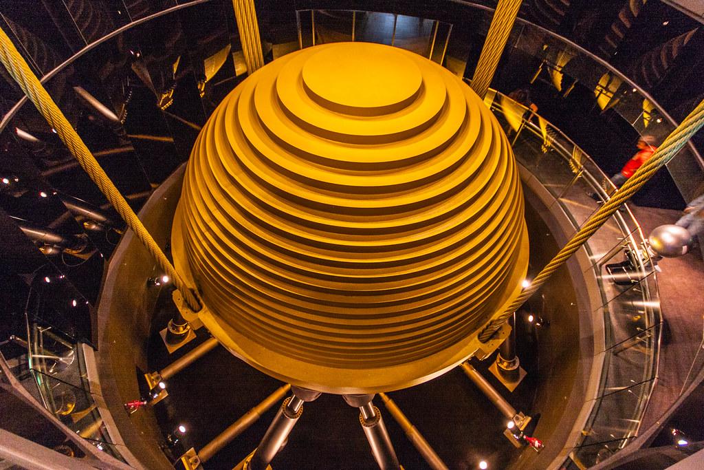 taipei 101 tuned mass damper the 660 tonnes steel