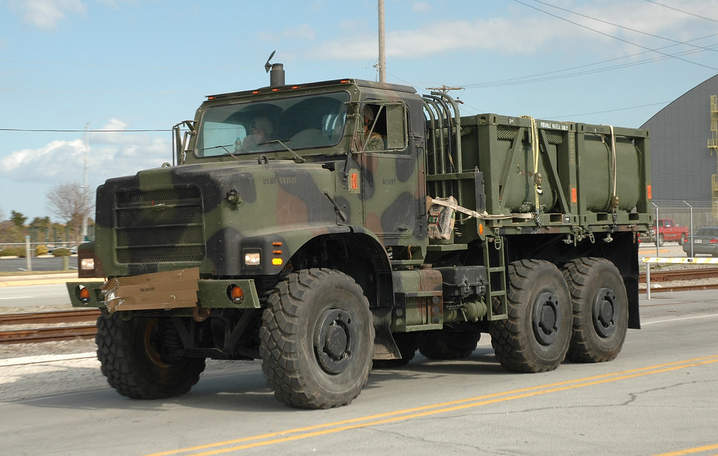 Military Wrecker For Sale >> US Marine Corps MK23 Cargo Truck with SIXCON Water Modules… | Flickr