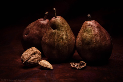 Red Pears and Nuts | by stevencmartin