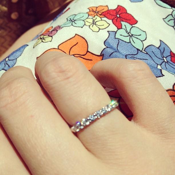 I Know My 30th Birthday Present From Tom A Tiffany Diamond Ring