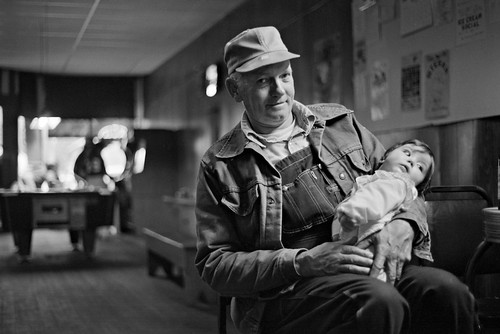 Junior with his granddaughter, Cuba, Kansas | by JC Richardson