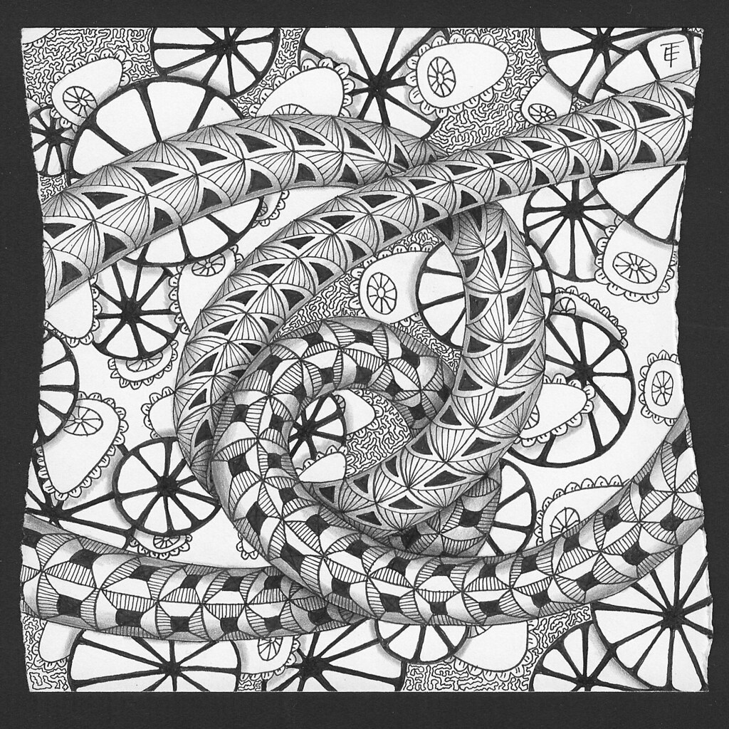 """Tangle Art 
