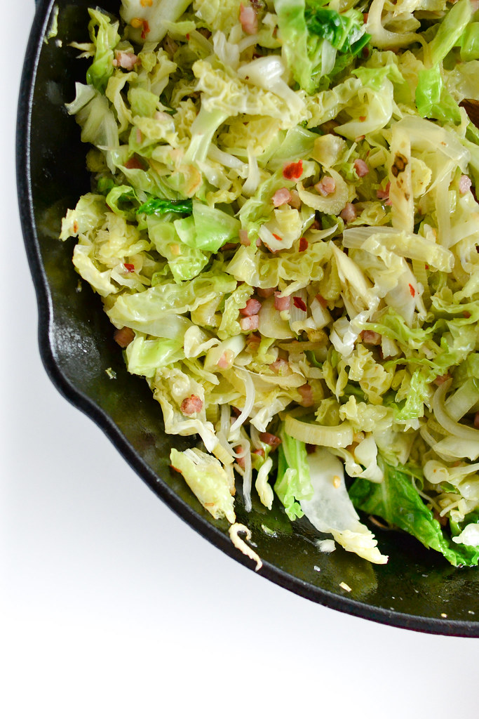 Cabbage, Fennel, and Pancetta Pasta | Things I Made Today