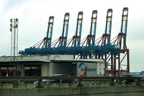 Hafenanlage Hamburg
