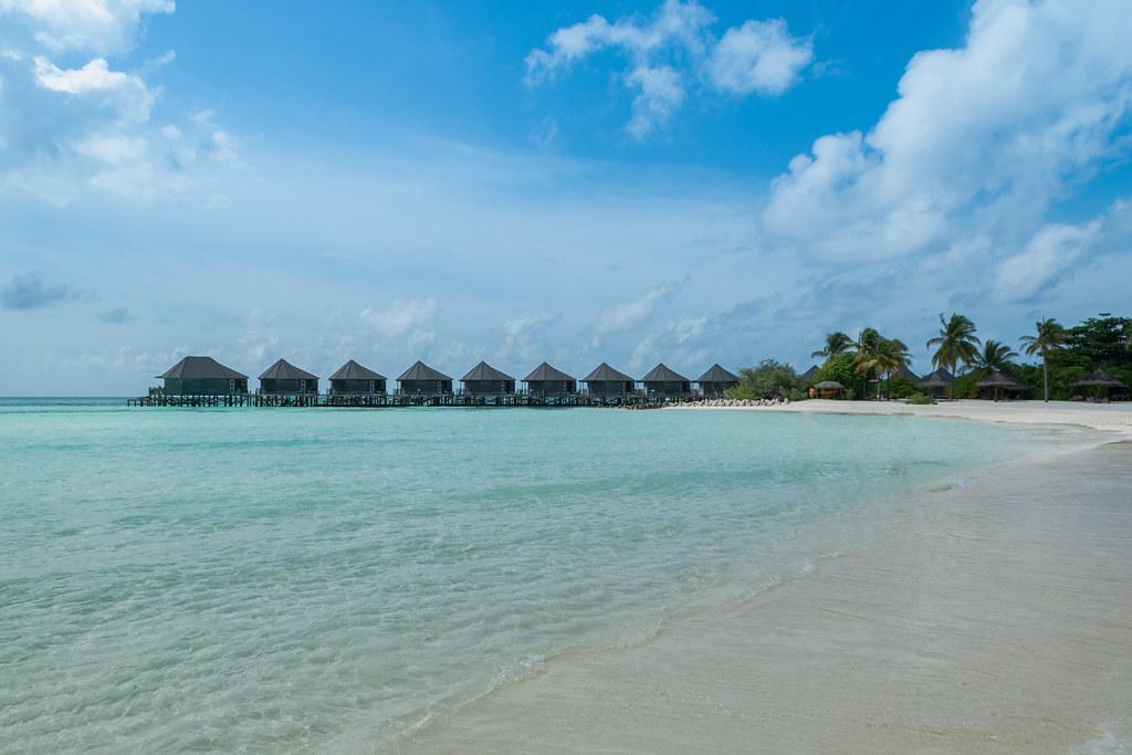 Malediven Strand Dronepicr Flickr