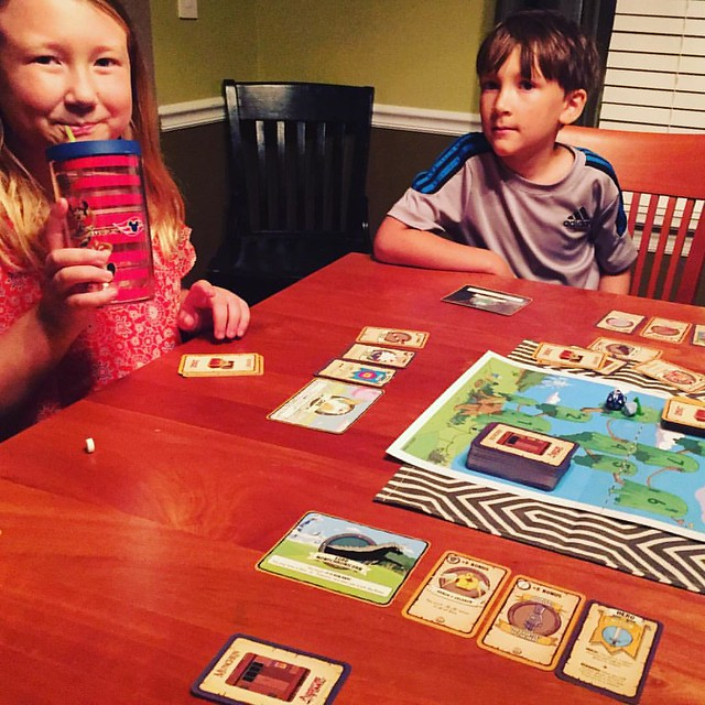 Played Adventure Time themed Munchkin with the kids tonight.