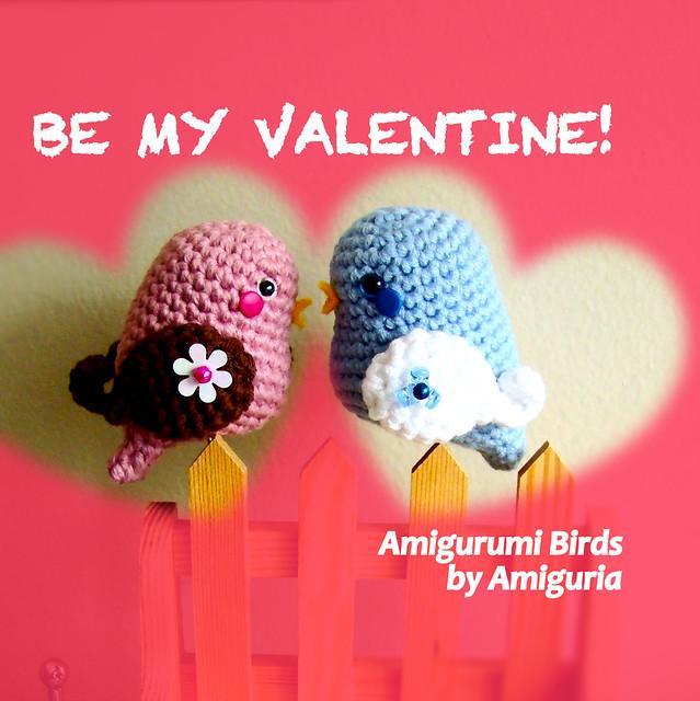 Amigurumi Valentine : Valentine birds amigurumi by Amiguria Are you in love ...