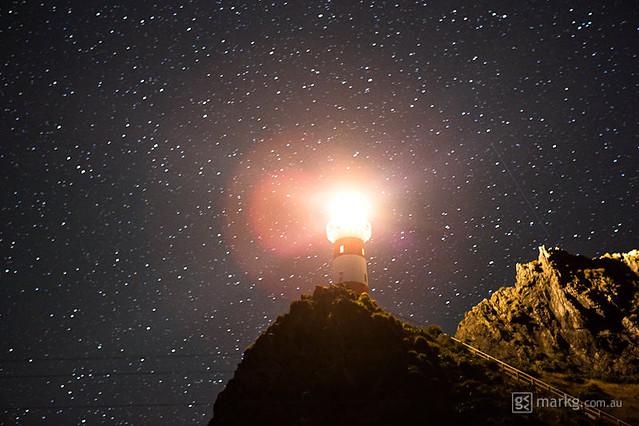 Cape Palliser Lighthouse Under the Stars | Flickr - Photo ...