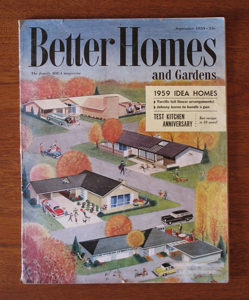 Better Homes And Gardens 1959 Idea Homes Issue | Heather David | Flickr