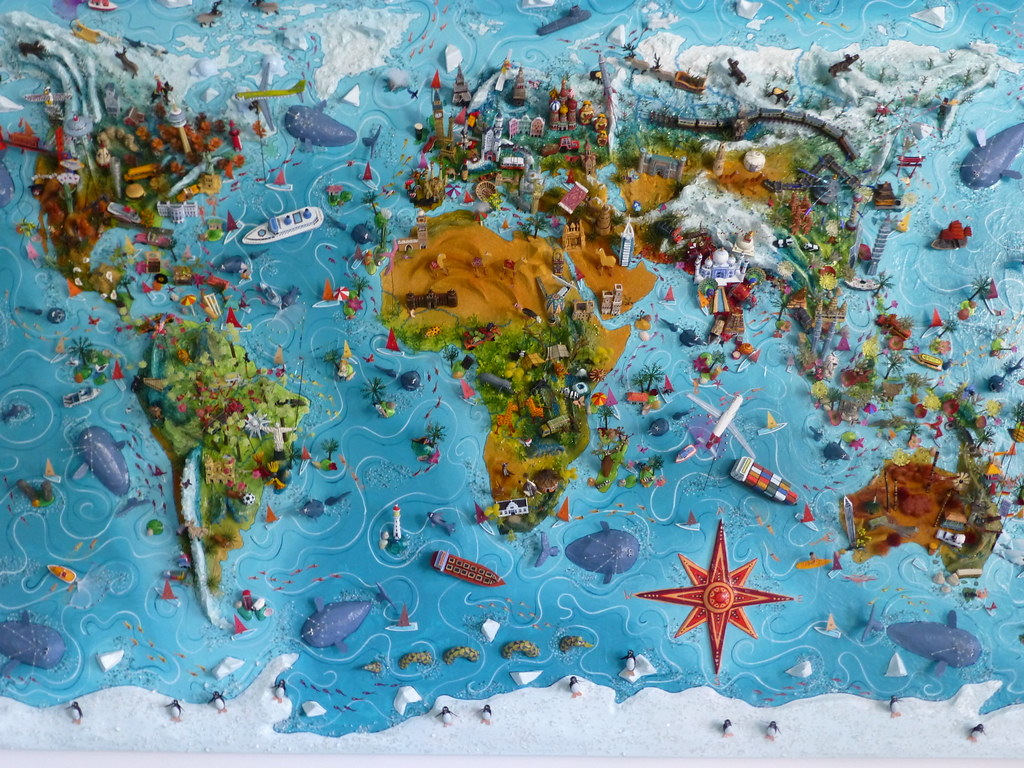 Sara Drake Eurocentric world map
