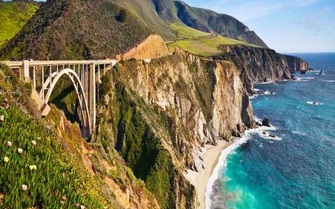 Bixby Bridge - Big Sur Wallpaper