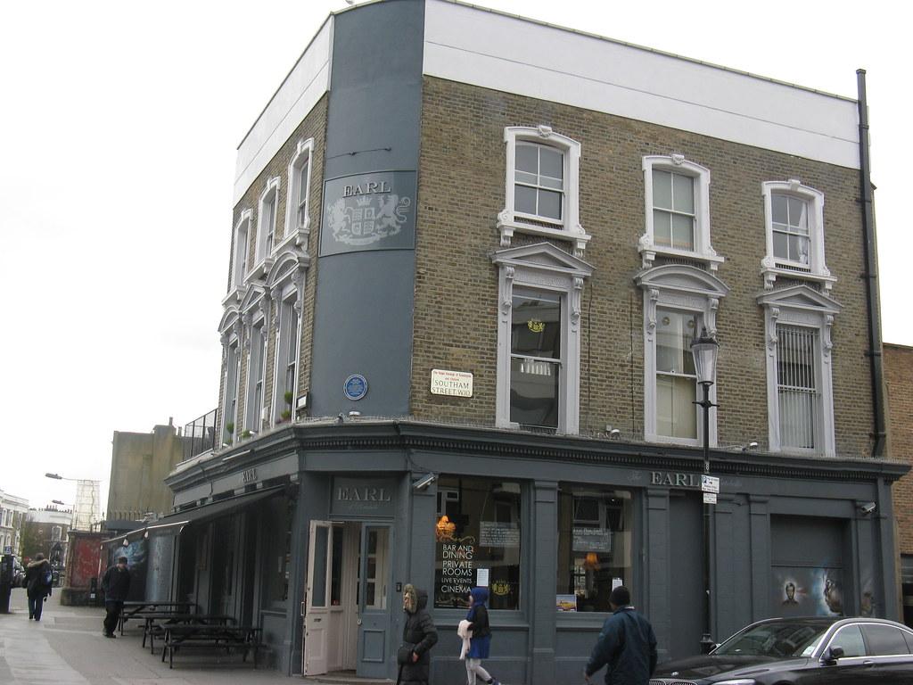 39 Earl Of Portobello 39 Public House Notting Hill London