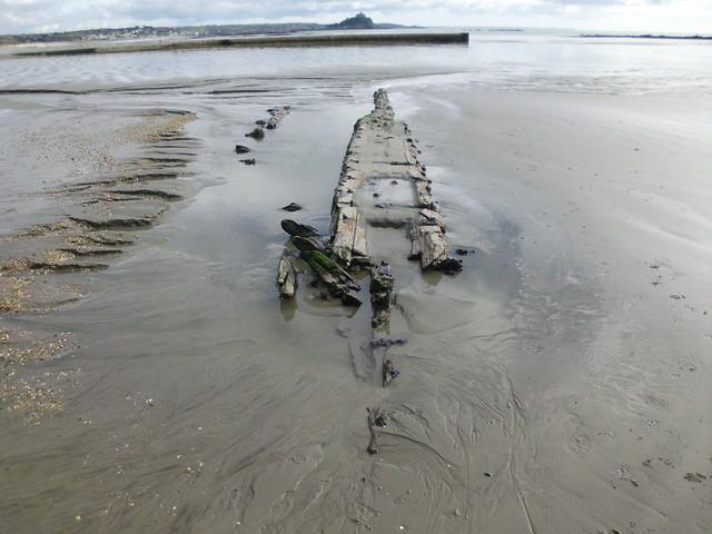 shipwreck,longrock cornwall.