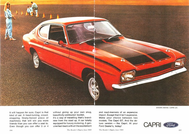 Ford Capri 3000 GXL - More information