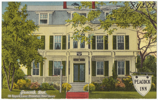 Peacock Inn, 20 Bayard Lane, Princeton, New Jersey