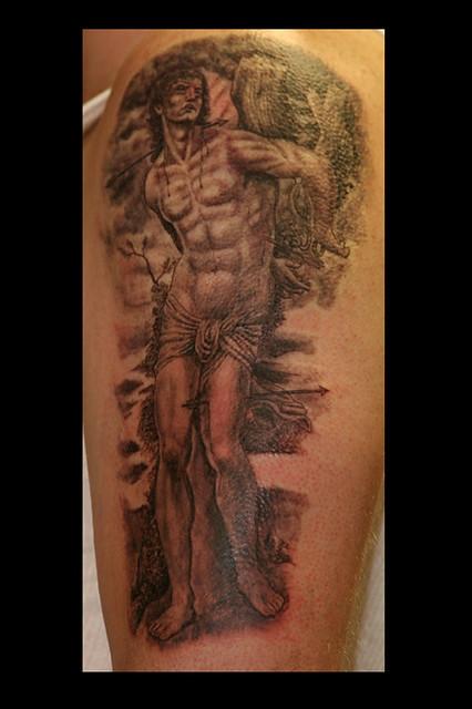 Saint sebastian flickr photo sharing for Sebastian tattoo artist dc