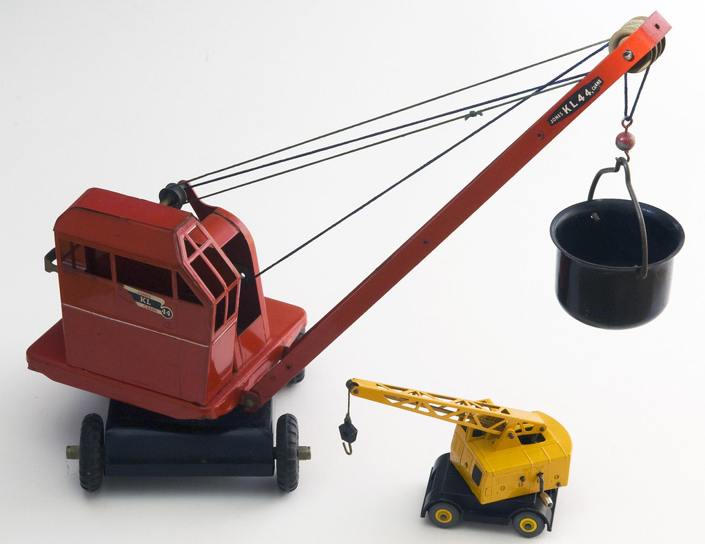 Mobile Crane Kje : Triang jones kl dinky toys no coles argus mobile