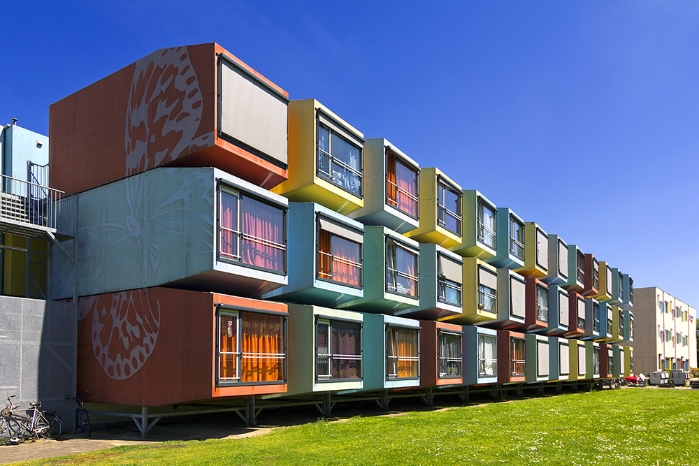 La Capanna Spacebox Quot Kleurdozen Quot Student Housing