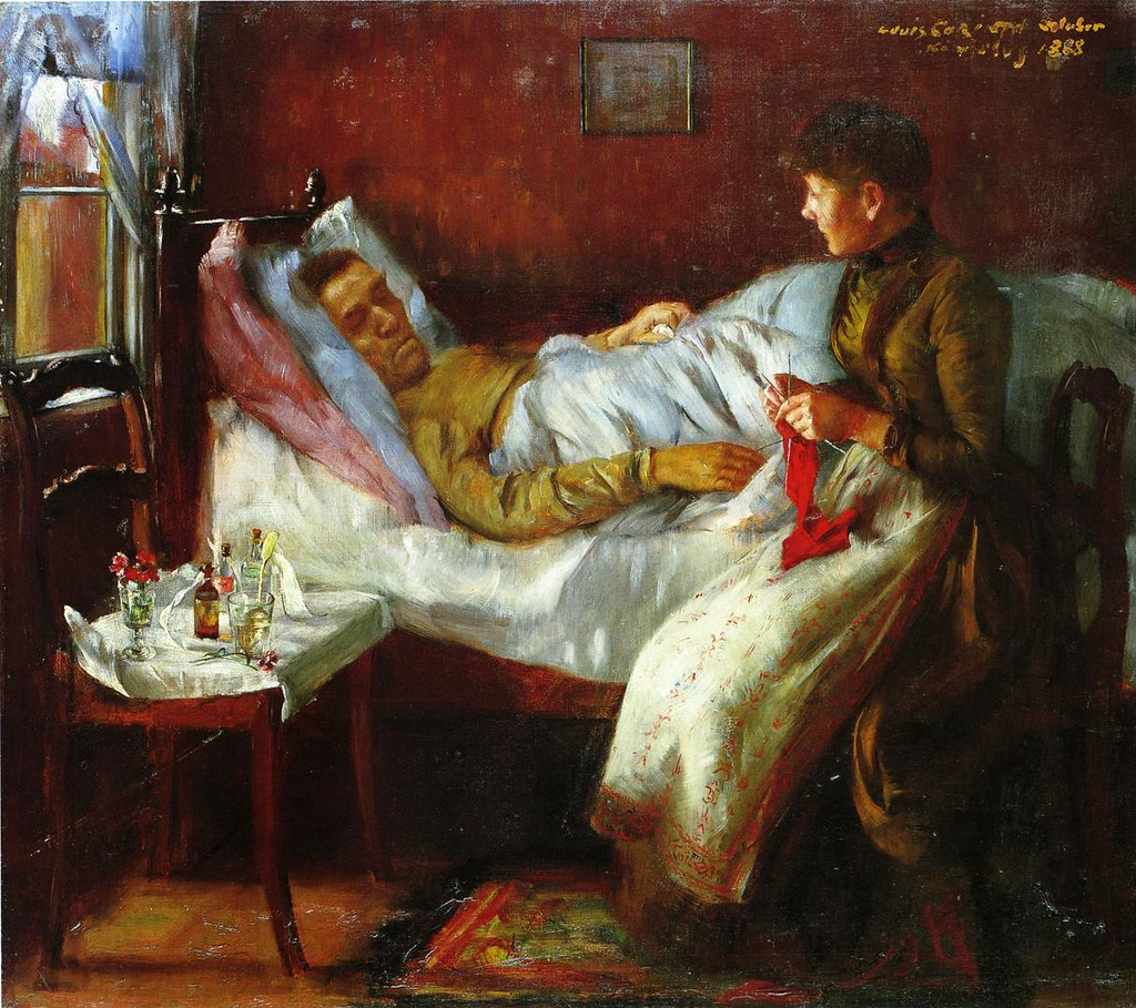 Image result for Franz Corinth on His Sickbed