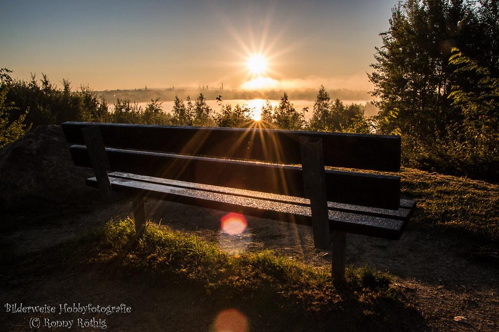 Sonnenaufgang am Olbersdorfer See