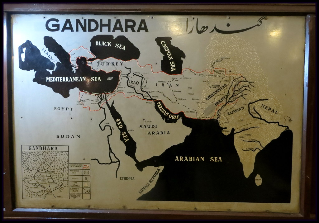Map Of Gandhara Art | Flickr - Photo Sharing!: https://www.flickr.com/photos/lyallpur/8377732160
