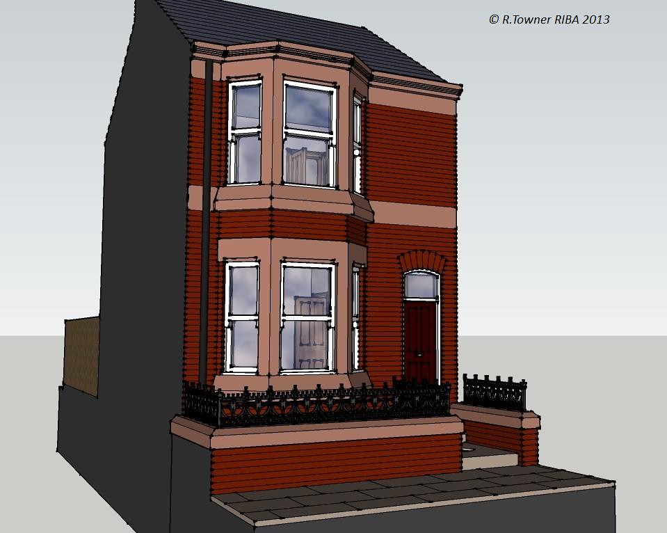 Victorian terraced house liverpool this is my drawing of for Terrace house stream online