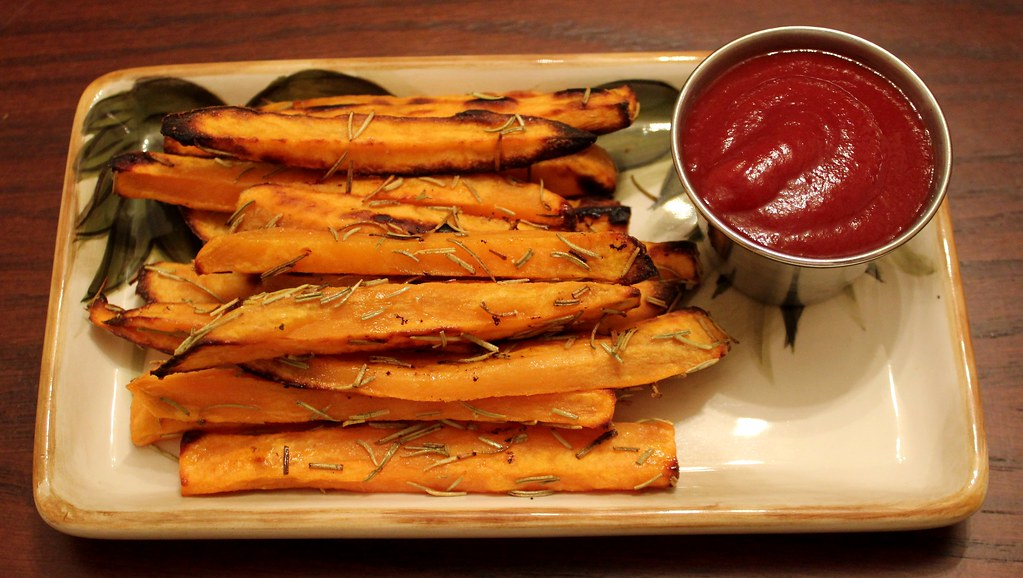 Baked Sweet Potato Fries With Rosemary and Parmesan | Flickr
