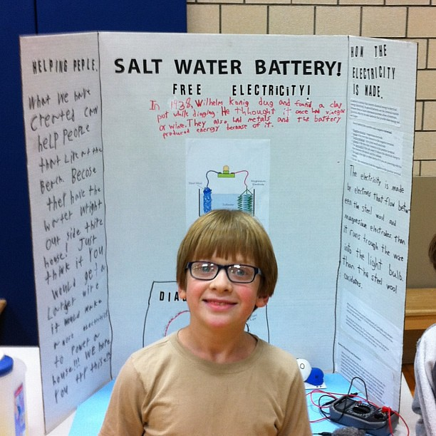 its science fair time again learn all about salt water b
