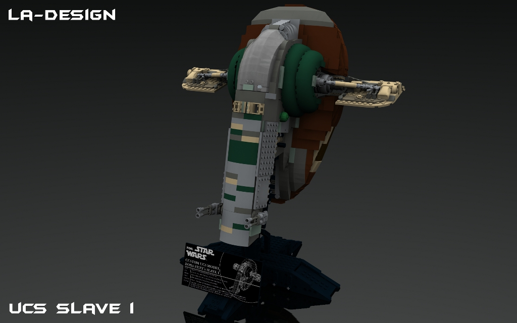 Lego Custom Star Wars Kamino Platform With Slave I 5 Flickr